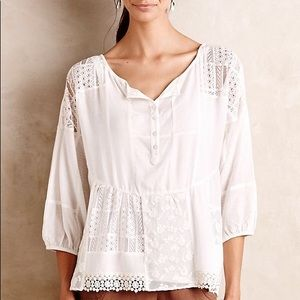 Anthropologie Vanessa Virginia Top